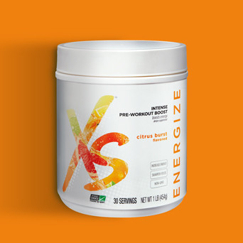 Citrus Burst Intense Pre-Workout Boost