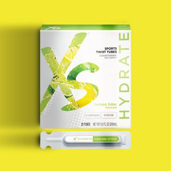 Lemon Lime Sports Twist Tubes